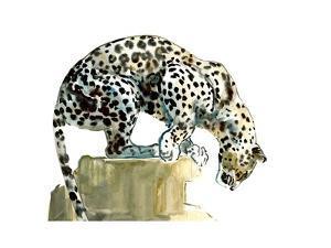 Spine (Arabian Leopard), 2015 by Mark Adlington