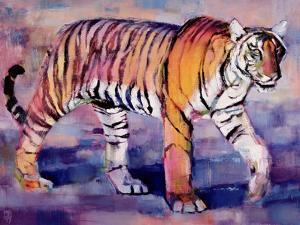 Tigress, Khana, India, 1999 by Mark Adlington