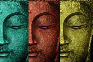 Buddha Face by Mark Ashkenazi