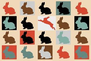 Colorful-Baby-Rabbits 10000 by Mark Ashkenazi