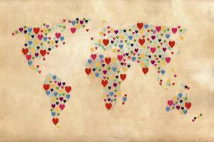 Heart Map 2 by Mark Ashkenazi