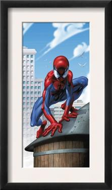 Ultimate Spider-Man #30 Cover: Spider-Man by Mark Bagley