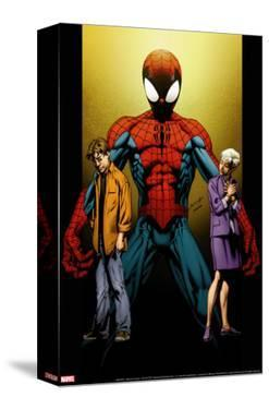 Ultimate Spider-Man No.111 Cover: Spider-Man, Peter and May Parker by Mark Bagley