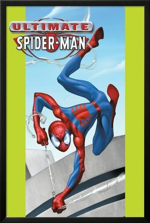 Ultimate Spider-Man No.29 Cover: Spider-Man by Mark Bagley