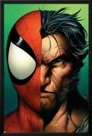 Ultimate Spider-Man No.67 Cover: Spider-Man and Wolverine by Mark Bagley