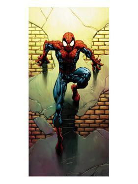 Ultimate Spider-Man No.72 Cover: Spider-Man by Mark Bagley