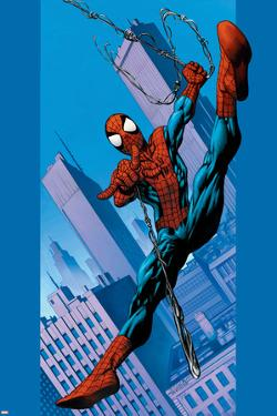 Ultimate Spider-Man No.75 Cover: Spider-Man by Mark Bagley