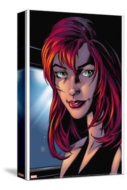 Ultimate Spider-Man No.78 Headshot: Mary Jane Watson by Mark Bagley