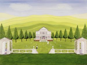 The Croquet Lawn by Mark Baring