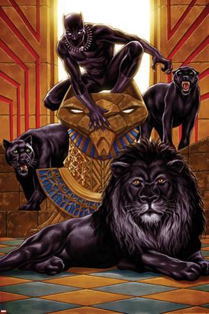Black Panther No. 1 Cover Art by Mark Brooks