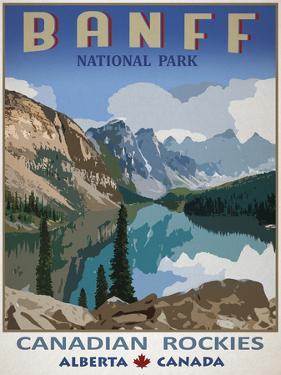 Banff, Canada by Mark Chandon