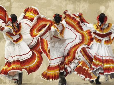 Folkloric Latin Dancers by Mark Chandon