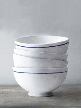 Four Artisan Bowls by Mark Chandon