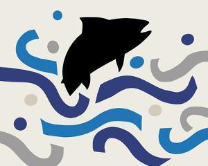 Papercut Ocean - Fish by Mark Chandon