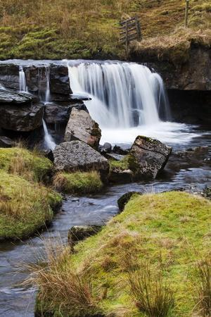 Clough Force on Grisedale Beck Near Garsdale Head