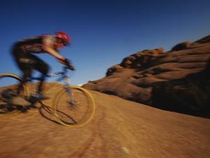 Slickrock Mountain Biking, Moab, Utah by Mark Cosslett