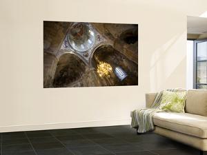 Ceiling Frescoes Inside the 11Th-Century Sapara Monastery by Mark Daffey