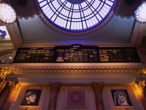 Interior of Manchester Royal Exchange Building, Manchester, England by Mark Daffey