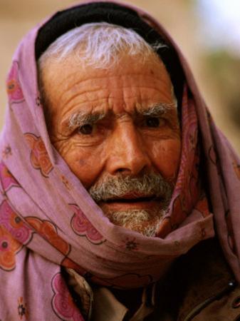 Iranian Man, Mahan, Iran by Mark Daffey