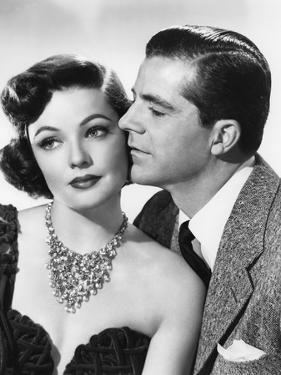 Mark Dixon Detective WHERE THE SIDEWALK ENDS by OttoPreminger with Gene Tierney and Dana Andrews, 1