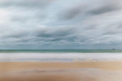 Carbis Bay Beach Looking to Godrevy Point at Dawn by Mark Doherty