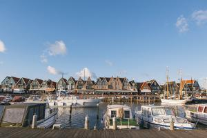 Volendam Harbour, North Holland Province, the Netherlands (Holland), Europe by Mark Doherty