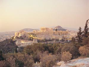 Parthenon, Acropolis, Greece by Mark Dyball