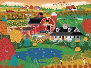 Apple Pond Farm Fall by Mark Frost