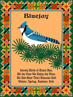 Blue Jay Quilt by Mark Frost