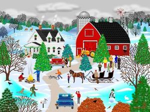 Christmas on the Farm by Mark Frost