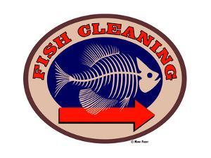 Fish Cleaning Arrow by Mark Frost