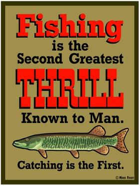 Fishing 2nd Thrill by Mark Frost