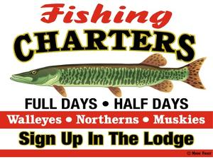Fishing Charters by Mark Frost