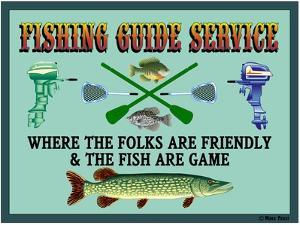 Fishing Guide Service 2 by Mark Frost