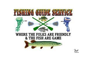 Fishing Guide Service by Mark Frost
