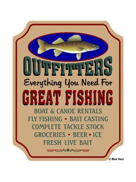 Fishing Outfitters by Mark Frost