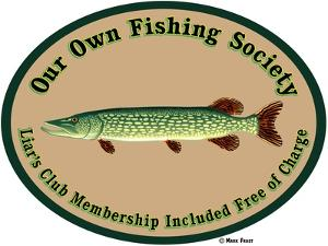 Fishing Society Liars Club by Mark Frost