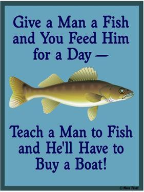 Give Teach Fish Boat by Mark Frost