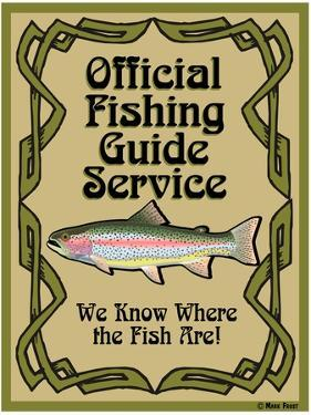 Official Fishing Guide by Mark Frost