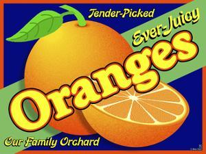 Orange Crate Label by Mark Frost