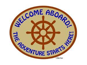 Welcome Aboard Adventure by Mark Frost
