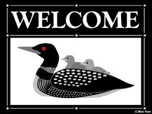 Welcome Loon by Mark Frost