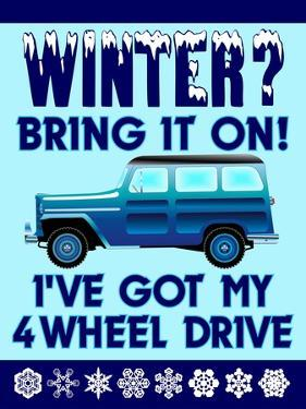 Winter Bring it 4WD by Mark Frost