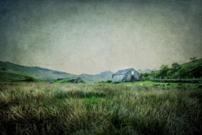 English Landscape with Old Barn