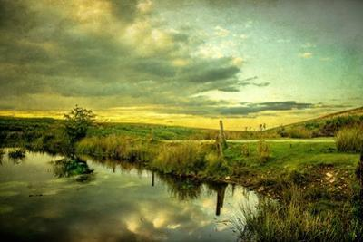 Romantic Rural Scene in England
