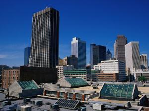 Business District, Atlanta, GA by Mark Gibson