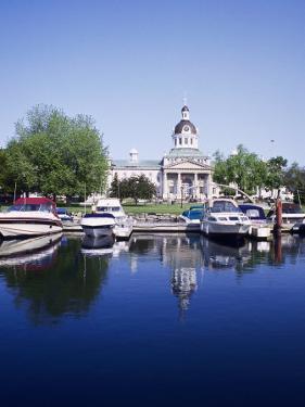City Hall and Marina, Kingston Ontario, Canada by Mark Gibson
