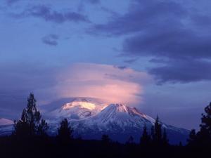 Mt. Shasta at Dusk by Mark Gibson