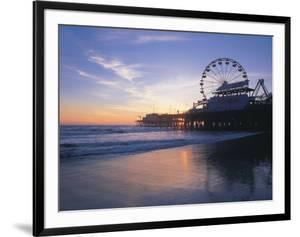 Pier Sunset, Santa Monica, CA by Mark Gibson