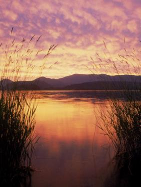 Sandpoint, Id, Sunset on Lake Pond Oreille by Mark Gibson